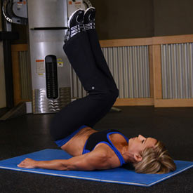 bent knee hip raise 2