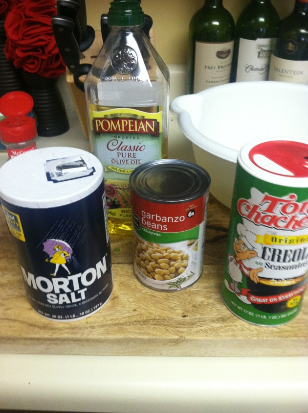 chickpeas ingredients