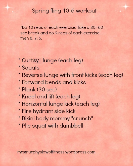 10 to 6 workout
