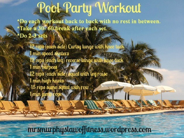 pool party workout