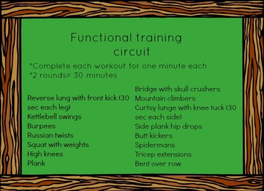 functional training circuit
