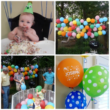 josephs birthday Collage