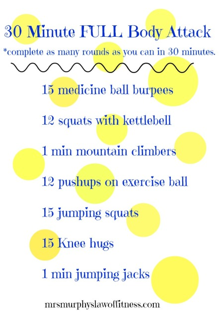 30 min full body attack