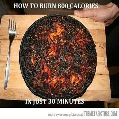 burn 800 calories