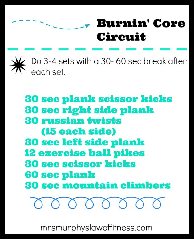 burning core circuit