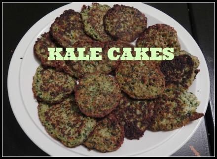 kale cakes