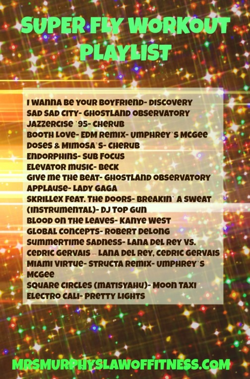 super fly PLAYLIST