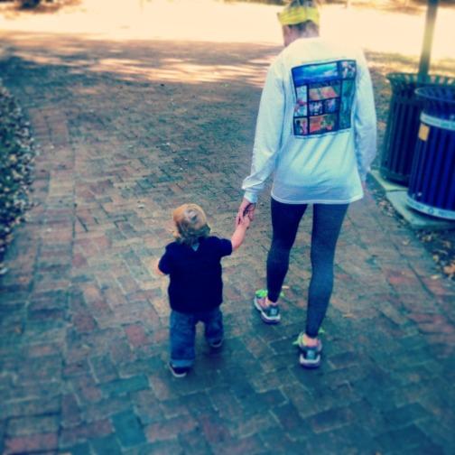 joe mommy walking