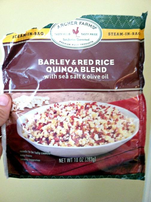 frozen quinoa
