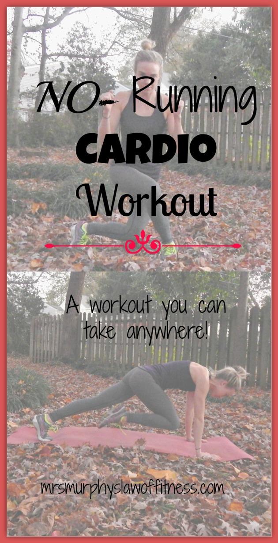 no running cardio