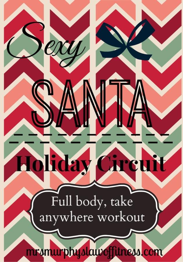 sexy Santa full body workout